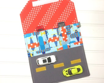Toy car holder | Airplanes | Washable toy | Wedding favor | kids travel | Toddler gift | Car carrier | Kids wallet | Toy car storage | cars
