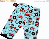 On SALE 40% OFF Rockabilly Baby - 50's - Retro Baby - Diner -  Rock N Roll - Blue Pants -  Baby Pants -  Boy -  Girl -  Pants - Cotton Pants