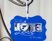 Personalized Blues ornament