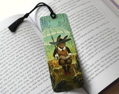 Rainy Day Rabbit Bookmark