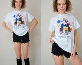 sale 25% off every sunday Spuds Mackenzie Vintage White Bud Light SPUDS MACKENZIE Party Animal Distressed T Shirt (s m)