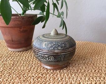 Stoneware Trinket Dish