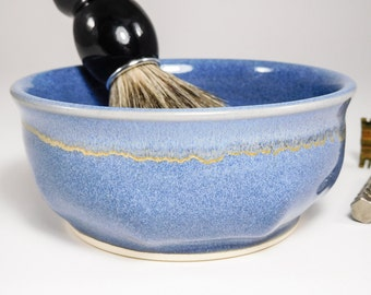 Shaving Soap Bowl - Wet Shave Pottery - Shaving Bowl - Clay Shave Cup - Ceramic Shave Dish - Wetshaving Ceramic - Shaving Dish - In Stock