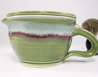 Shaving Scuttle - Warmer Scuttle Shave - Scuttle Bowl Warmer - Shaving Scuttle Clay - Warmer Shave Scuttle - Scuttle Shaving Mug - In Stock