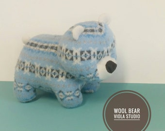 Bear Cub, Handmade, Toy, Children, Gift, Eco Friendly, Plush