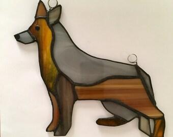 Pop Art German Shepherd
