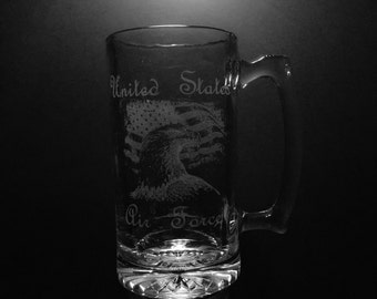 United States Air Force Beer Mug