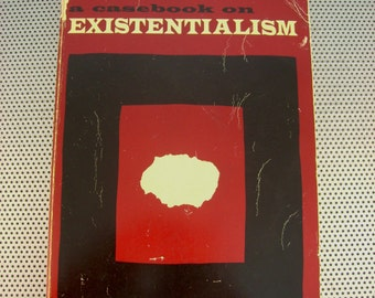 Vintage 1970 A Casebook on Existentialism Paperback Book by William V. Spanos