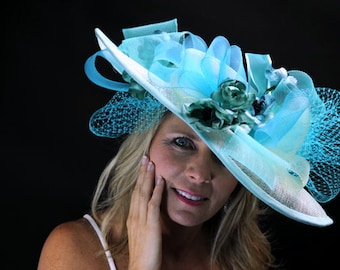 Handmade Couture Millinery Hat-Jeni
