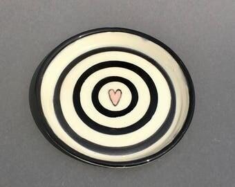 Black love plate