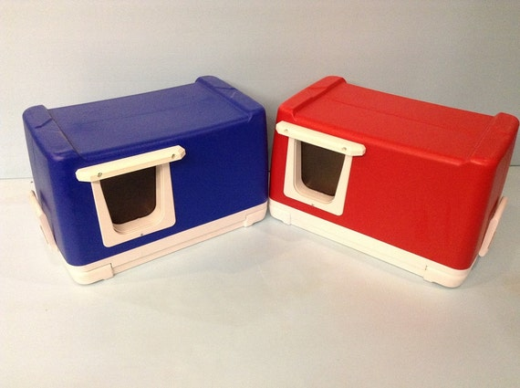 CAT POD,outdoor cat house,shelter,condo,tube