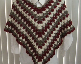 RESERVED FOR BRODYANDMA - Down Payment - 4 Crocheted Ponchos