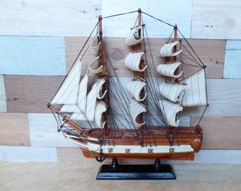 Wood Model Boat by Heritage Mint Ltd