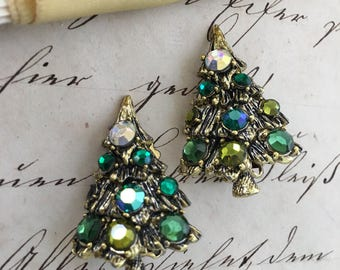 Sparkly Holiday Earrings