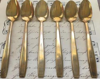 Mid Century Iced Tea Spoons