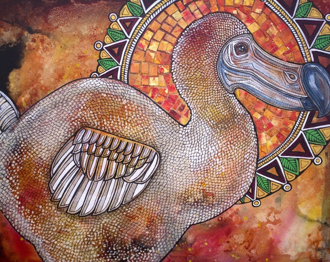 Dodo Bird Art Print by Lynnette Shelley