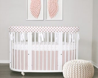 NEW Rose Gold Collection // Baby bedding & Stokke bedding ///Crib or Stokke // Choose your fabrics // Choose your Trim