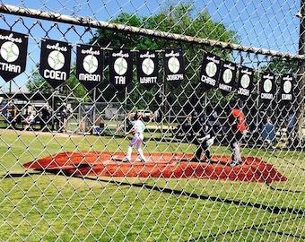 Custom Baseball Team Banner (PRINTABLE DIGITAL FILE)