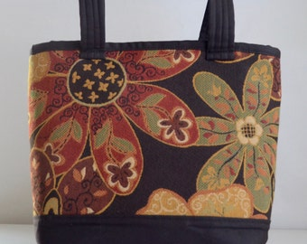 Dynamic Spice Fabric Tote Bag - READY TO SHIP