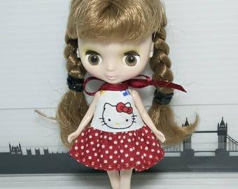 Dress for Petite Blythe/ Cu-Poche