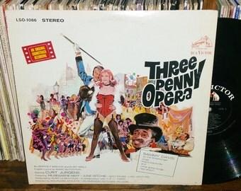 Three Penny Opera Vintage Vinyl Soundtrack Record