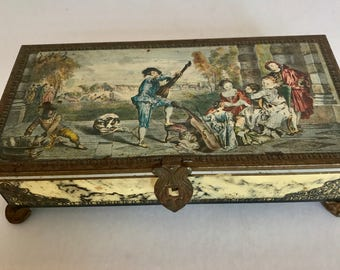 French Style Candy Tin