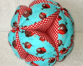 Round Robbins Easy-Catch Baby/Toddler Clutch Ball