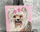 Shaggy Little Dog Mini Art