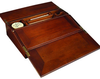 Campaign Lap Desk - Calligraphy Set
