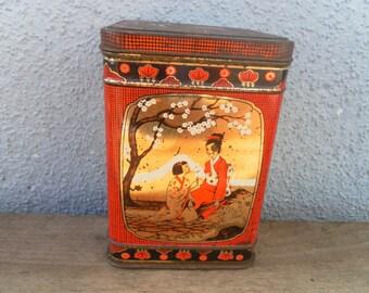 Vintage Chinese Tea Tin