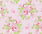 NEW Rambling Rose from Tanya Whelan Rambling Rose on Pink  YES!! Continuous fabric cuts and shipping is combined