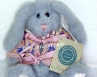 "Vintage Boyds Hare, Rabbit Retired 9"" Estelle [SLE] J.B. Bean Series, Vintage 1997 Collectible MWT"