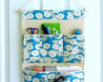 Wall or Door Hanging Organizer in a Multi Pocket Design