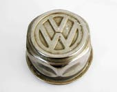 Vintage Volkswagen 1972 Baja Champion Superbeetle Wheel Center Cap by Lemmerz.