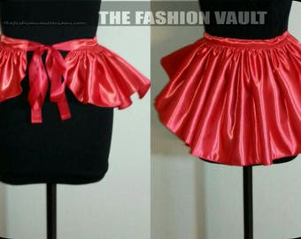 Cosplay Burlesque Dance Bustle skirt
