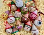 Little Wood Ornaments