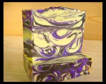 Tangerine Cedar Soap, Handmade Vegan Soap, Artisan Handcrafted Soap, Gift for Her, Gift for Him, Gift for Friend, For Man or Woman, bar soap