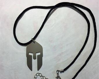 Spartan Helmet Necklace, Spartan Helmet, Spartan, Spartan, Spartan Gear, Spartan Pendant, Spartan Necklace, Gift Idea, Spartan Jewelry