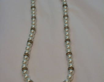 Pearls & Crystal Necklace