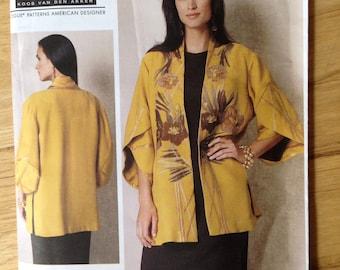 Vogue Pattern 1493 American Designer Koos Van Den Akker Jacket