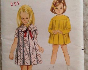 Sweet Vintage Butterick 4215 Dress • girls size 6