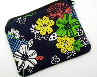 Zipper pouch / coin purse /card bag (padded) (ZS-204)