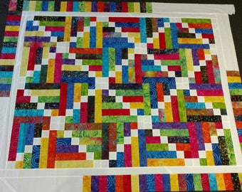 Sticks and Stones Quilt TOP
