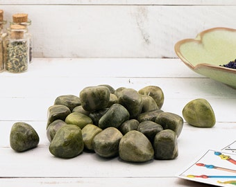 Polished Vesuvianite Tumbled - Stone of Spiritual Growth