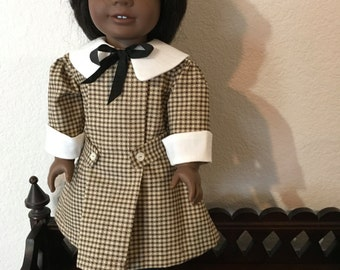 1905 Style Dress for 18 inch doll