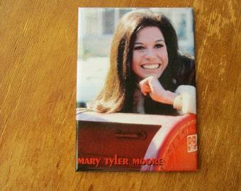 "Mary Tyler Moore  Refrigerator Magnet 2.5""x 3.5"" RIP Mary"