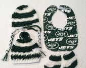 New York Jets baby gift set(size 0 to 6 months or 6 to 12 months))