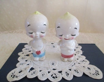 Cupie Angels Salt and Pepper Shakers