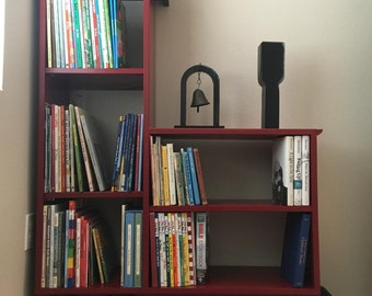 Toy train bookshelf