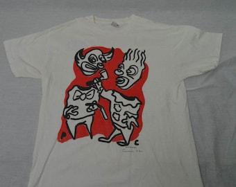 Vintage ROLLINS BAND T-shirt Rock Shirt 90's Concert 1992 Summer Tour